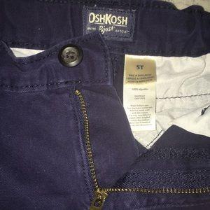 Navy Blue 5T Oshkosh Pants